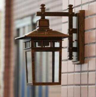 цена на Continental waterproof Wall Lamps Les Loges Du Park Hotel living room balcony corridor aluminum outdoor wall lamp LU627 ZL458