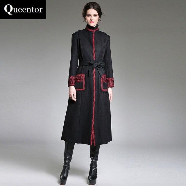 queentor original 2017 brand jacket autumn winter plus size