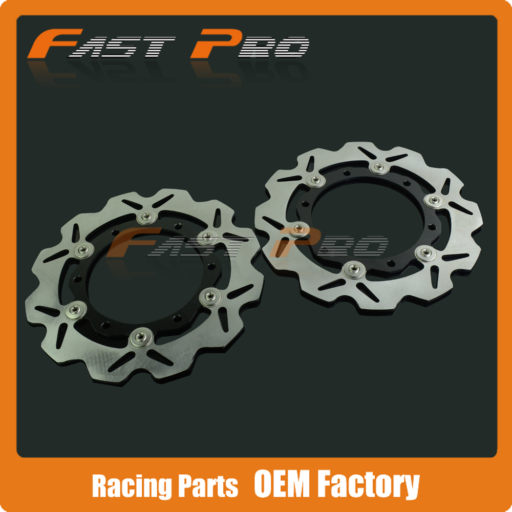1 Pair Front Brake Disc Rotor For Yamaha XP 500 T-MAX 500 ABS 08 09 10 11 12 motorcycle rear brake rotor disks disc for yamaha xp500 tmax500 t max500 2001 2011 xp 500 abs t max 500 abs 2008 2009 2010 2011