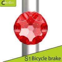 Meilan S1 USB Bike taillight Mini 7LED 80Lm 350mAh 7 modes Rechargeable Bike safelight Breaking Light With G-sensor
