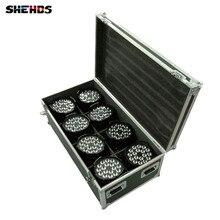 Éclairage de scène avec 4/6/8 pièces LED canettes 18x18W rgbw + UV 6 en 1 LED, livraison rapide avec valise