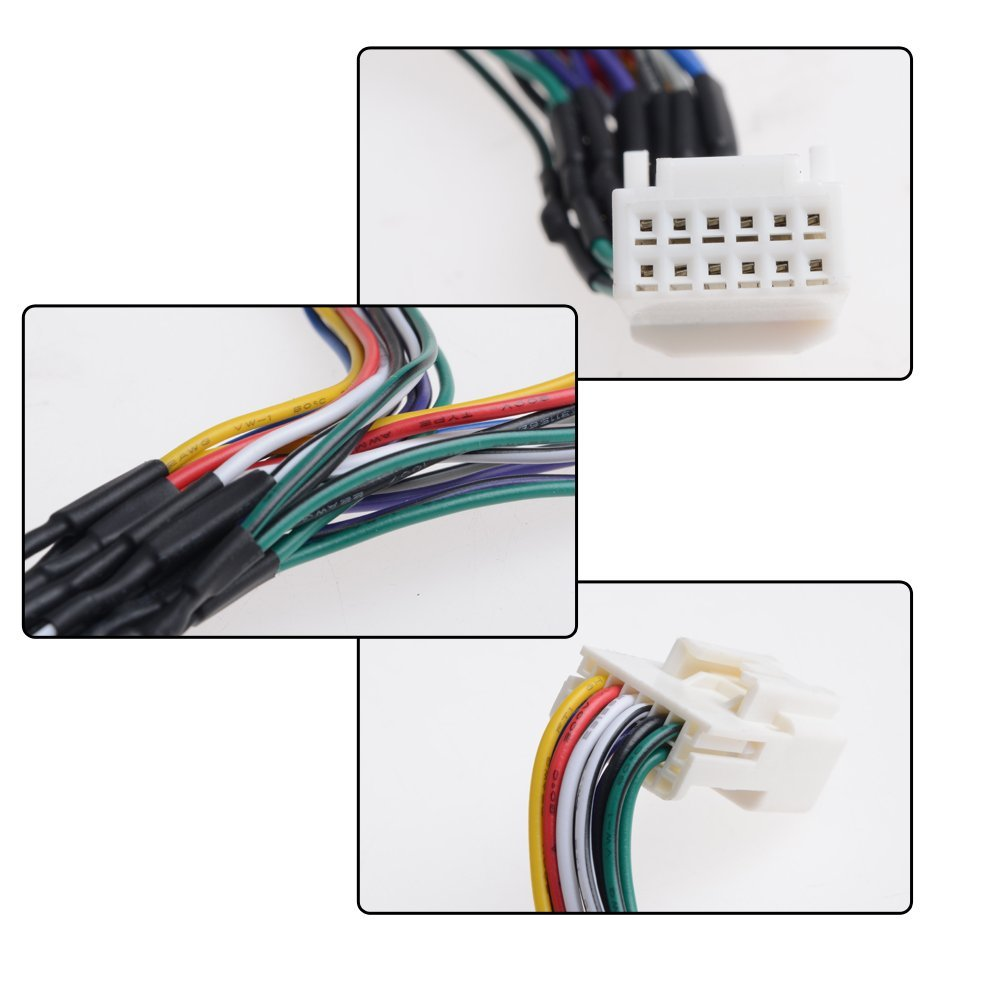 Apps2car 6 Pin To 6pin Y Cable Radio Wiring Harness For Toyota 20 Stereo Lexus Scion Usb Adapter Cd Changer Navigation Device In Car Mp4 Mp5 Players