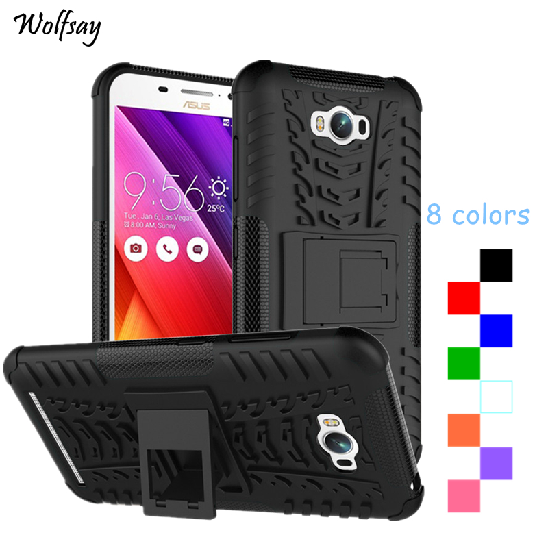 <font><b>Asus</b></font> Zenfone Max ZC550KL Case Fashion Thick Silicone Hybrid Armor Cases For <font><b>Asus</b></font> Zenfone Max ZC550KL Z010D <font><b>Z010DA</b></font> 5.5 inch Cover image