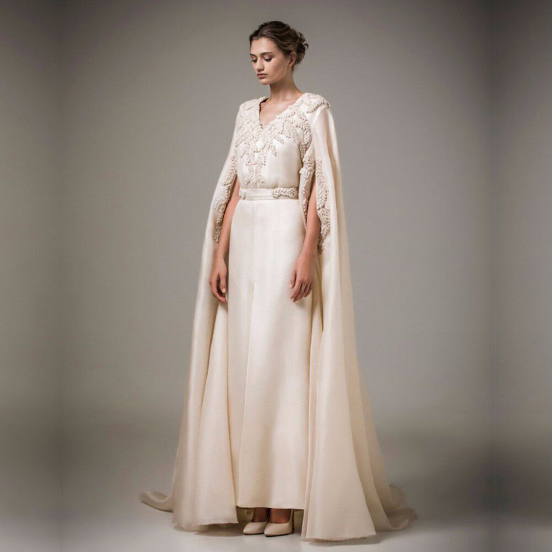 Couture Evening Gowns And Dresses: Haute Couture Muslim Evening Dresses Long Arabic Kaftan