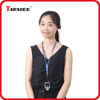 YARMEE Tour Guide System Including 2 Transmitter And 30 Receivers Support 99 Channels With Long Distance Up To 69 Meters YT100