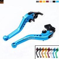 For SUZUKI SV650/S 1999-2009 600/750 KATANA 1998-2006 Motorcycle Aceesories Short Brake Clutch Levers Blue