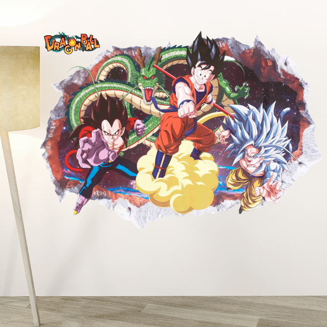 Dragon Ball Z 3D Removable Wall Sticker