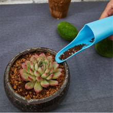 Mini Fleshy Plant Soil Spade Shovel Plastic & Garden Tools Bucket Potted  Cultivation Cylinder