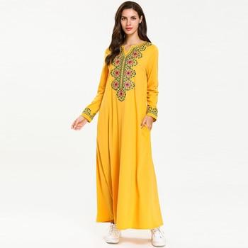 Caftan musulman Robe Maison Femmes