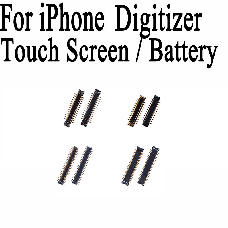 High Quality FPC Connector For iphone 4G 4S 5G 5S 5C LCD