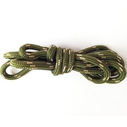 100-160 см спортивные круглые шнурки, 17 цветов, кроссовки, белые шнурки, спортивная обувь, шнурки, спортивная обувь, обувь для скейта, шнурки - Цвет: armygreen khaki