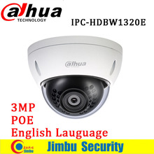 Dahua 3MP IP mini camera Waterproof IPC-HDBW1320E ONVIF HD IP66 IR POE Network Dome security Camera HDBW1320E