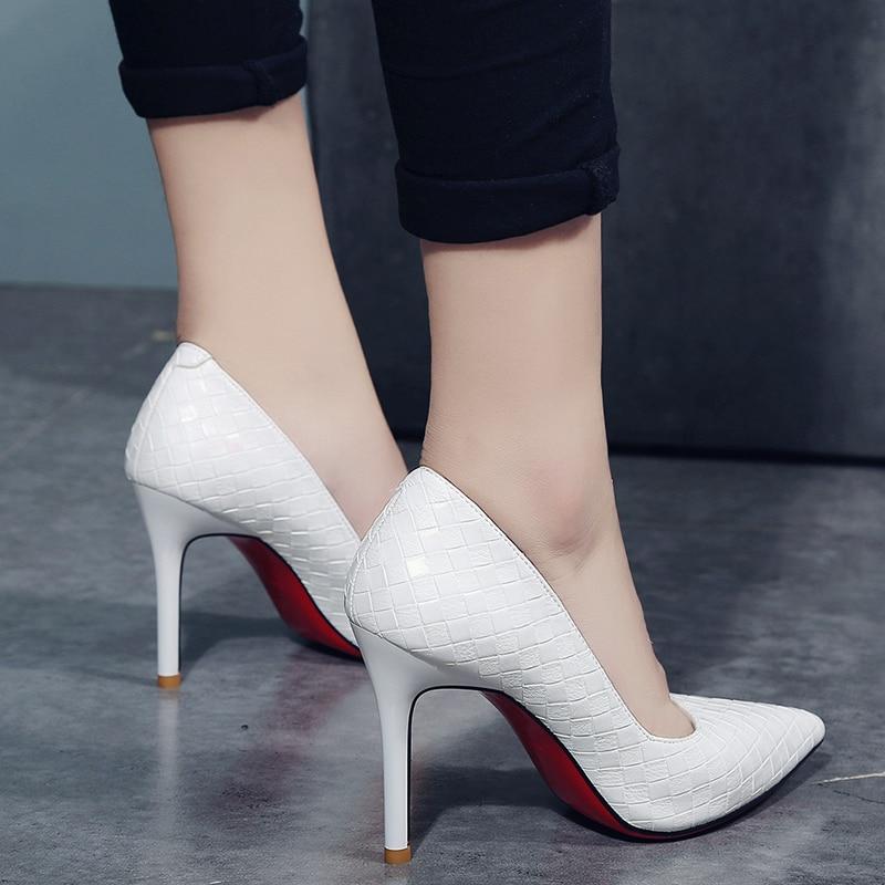 ... brand designer elegant red bottom pointed toe women s Pumps fashion  office 8cm thin high heels zapatillas mujer. 🔍. 18901-4485f9.jpeg.  -45%off. prev d932cebd8cf1
