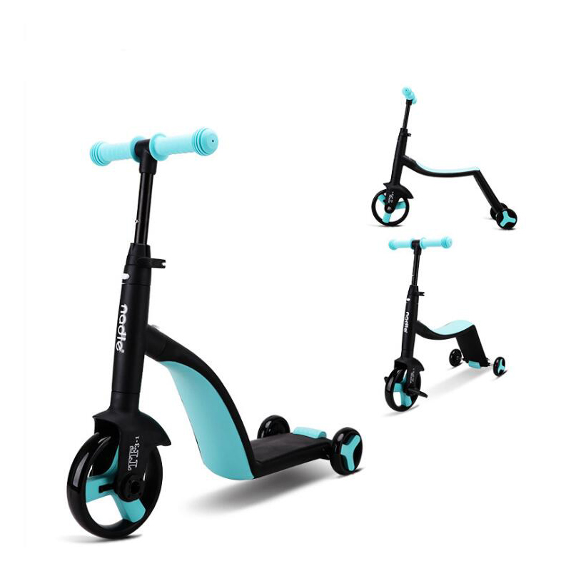 Children Scooter Tricycle 3 In 1 Toddler Balance Bike 8