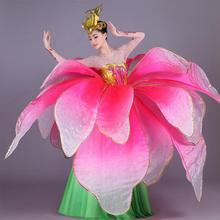 Новинка, бальные платья для танцев, высокое качество, цветы, открывающиеся, для танцев, большое платье, современный танец, представление, обслуживание