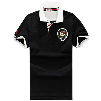 Plus Size 5XL 6XL 7XL 8XL Bust 155cm AK London Brand Polo men Embroidery Cotton Short polo shirt Big Size XXL XXXL 4XL