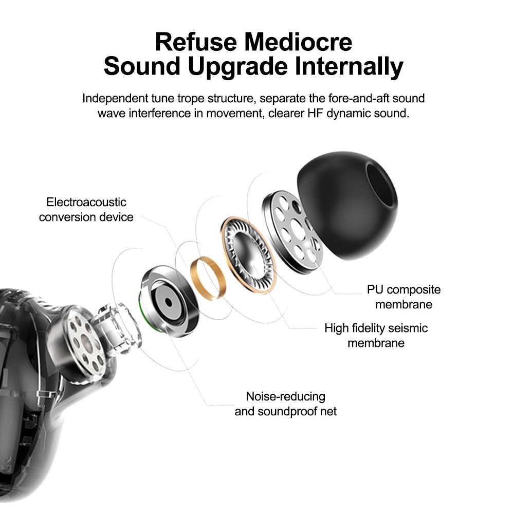 ALWUP Bluetooth 5,0 auriculares TWS auriculares inalámbricos auriculares Bluetooth auriculares estéreo auténticos auriculares deportivos HBQ-Q32