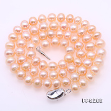 Unique Pearls jewellery Stone Natural Pearl Jewellery Set For Women Gift Pink 7mm Freshwater Pearl Necklace Bracelet Earrings new arriver pearl jewelry white color 4 16mm natural freshwater pearl rice biwa pearl necklace earrings jewellery set free ship