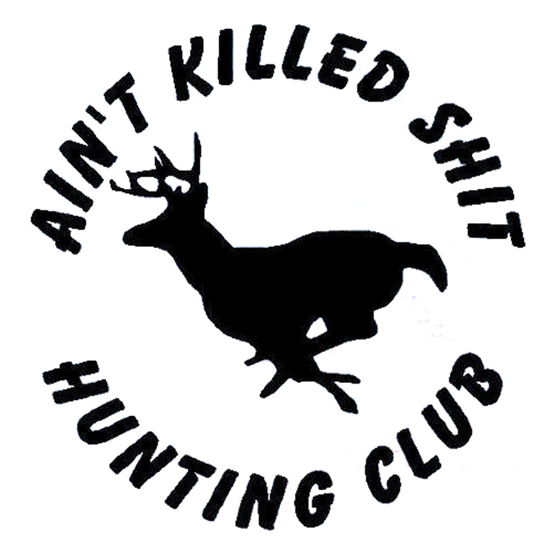 143cm145cm Aint Killed Sht Hunting Club Personality Vinyl Deer