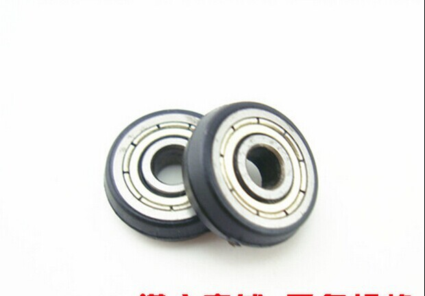 10pcs lot 604 ZZ POM Bearing Nylon shower door roller window pulley in Door Rollers from Home Improvement