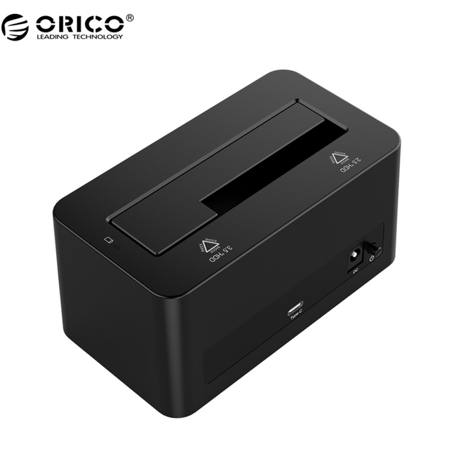ORICO 6619C3 6 Gbps Super Speed USB $ number a Tipo C 2.5 ''/3.5'' SATA HDD Herramienta de Envío & Storage Enclosure SSD Docking Station