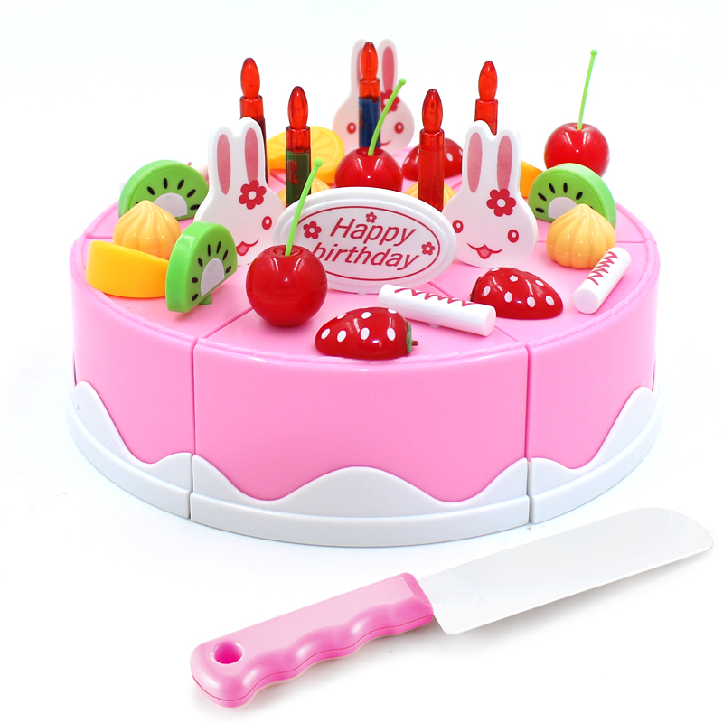 Fruit birthday cake girl boy toys parent child Children play house