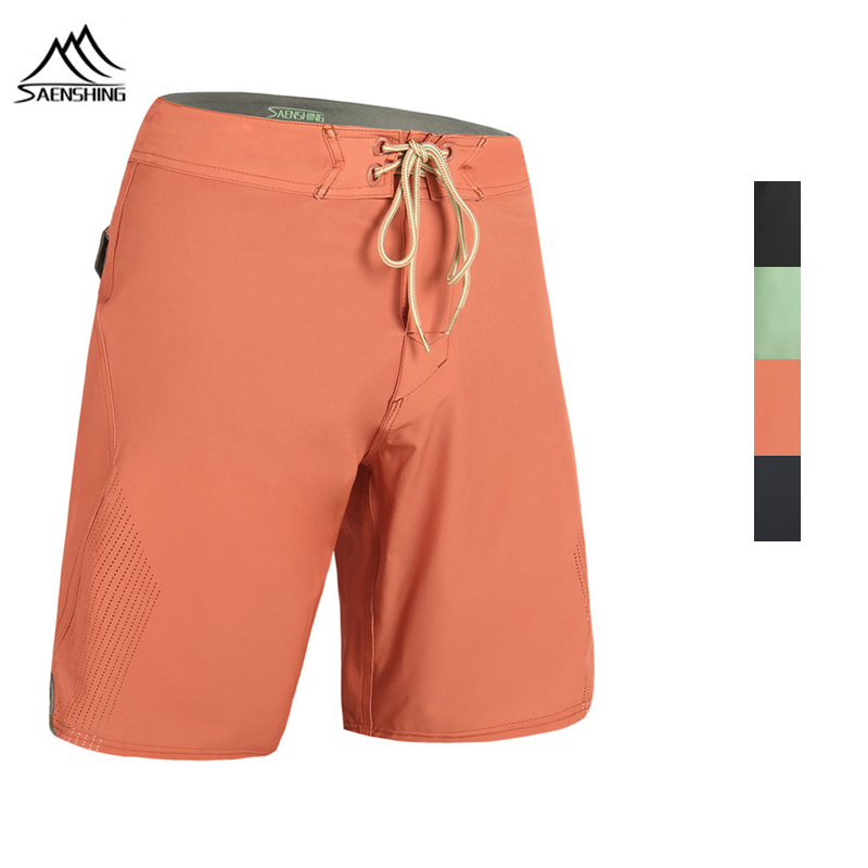 SAENSHING Beach   Board     Shorts   Swimwear Men Swimming Trunks Male Surfing Swim   Shorts   High Quality Breathable Swimsuit Bermudas