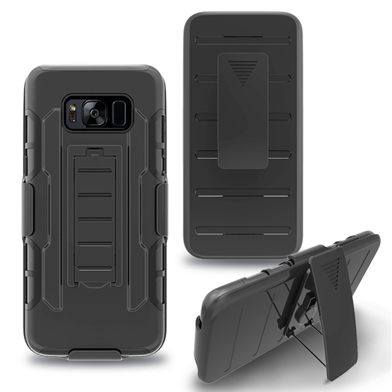 8ce7b5858bd Shockproof Robot Heavy Duty For Samsung S8 plus Case Future Armor Impact  Holster Hard Case For s7edge Active Phone Cover