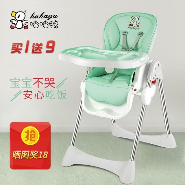 Canard Bb Manger Chaise Enfant Multifonctionnel Pliante Portable