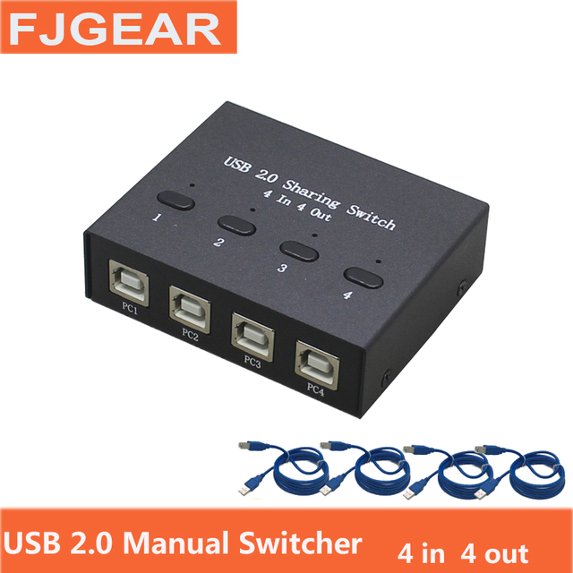 usb 2 0 hub manual sharing switch 4 in 4 out keyboard and mouse computer controls diagram usb 2 0 hub manual sharing switch 4 in 4 out keyboard and mouse sharing switch printer