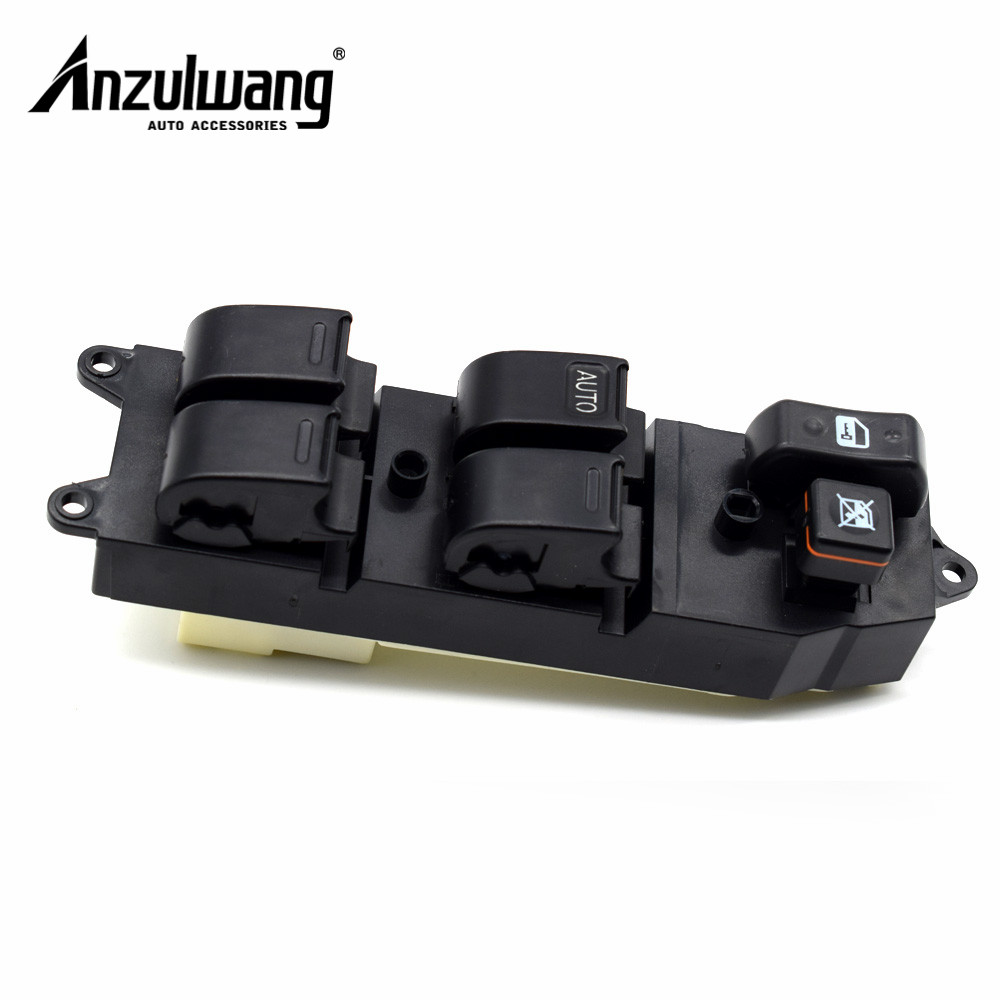 84820-60090 8482060090 Power Window Lifter Master Control Switch For <font><b>Toyota</b></font> Echo Yaris T.U.V <font><b>4Runner</b></font> Hilux Land Cruiser Camry image