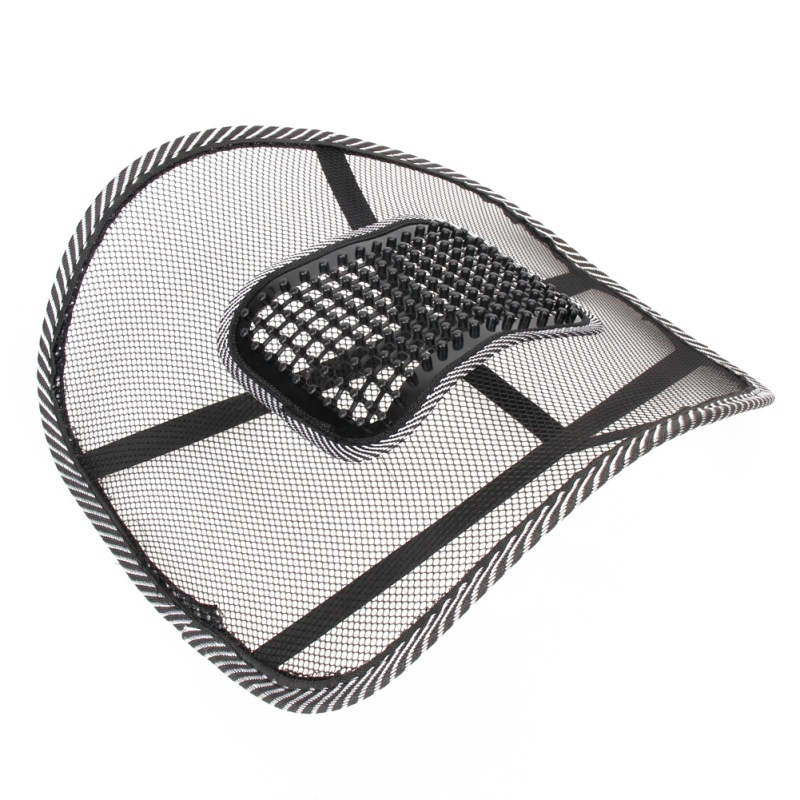 Car Seat Comfort Mesh Lumbar Back Brace Support Office Home Car Seat Chair Cu