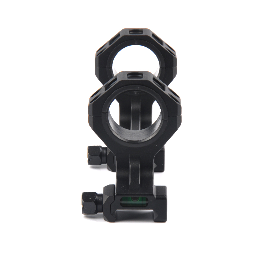 Image 5 - Hunting Rifle Scope Mount 25.4mm/30mm Diameter Rings Mount with Bubble Level Fit Picatinny Rail for Tactical Gun AR15 M4 M16-in Hunting Gun Accessories from Sports & Entertainment
