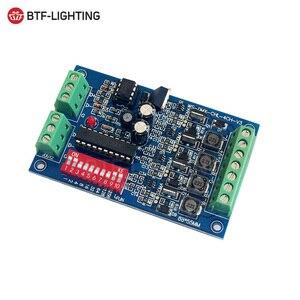 Постоянный ток 3CH/4CH легко DMX DMX512 светодиодный декодер, 350MA/700MA DMX контроллер