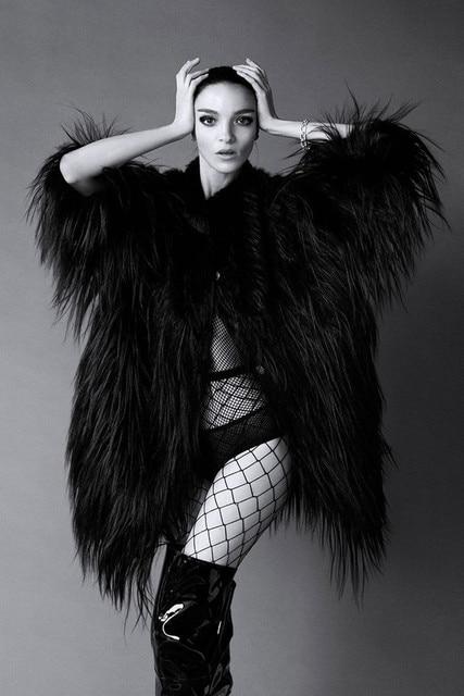 Aliexpress.com : Buy women long black fur coat 2016 ladies faux