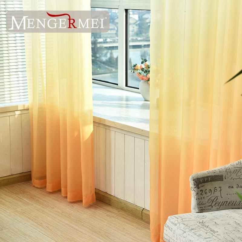 MENGERMEI 5 色のため Rideaux 装飾窓 Tende キッチン分周器 Garient カラーホーム XC-01
