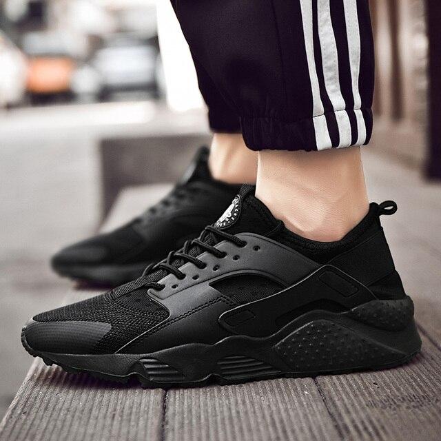2019 ユニセックスカジュアルシューズファッション軽量男性トレーナー快適なスニーカー Zapatos casuales hombre Chaussures オム