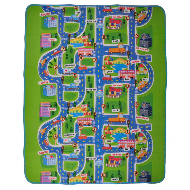 2 size Activity children puzzle play mat baby for kids room carpet rug blanket learning educational toys hobbies for boys girls 6