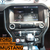 Adapt to ford mustang accessories mustang GT In the control carbon fiber car interior trim Body sticker 2015 2016 2017