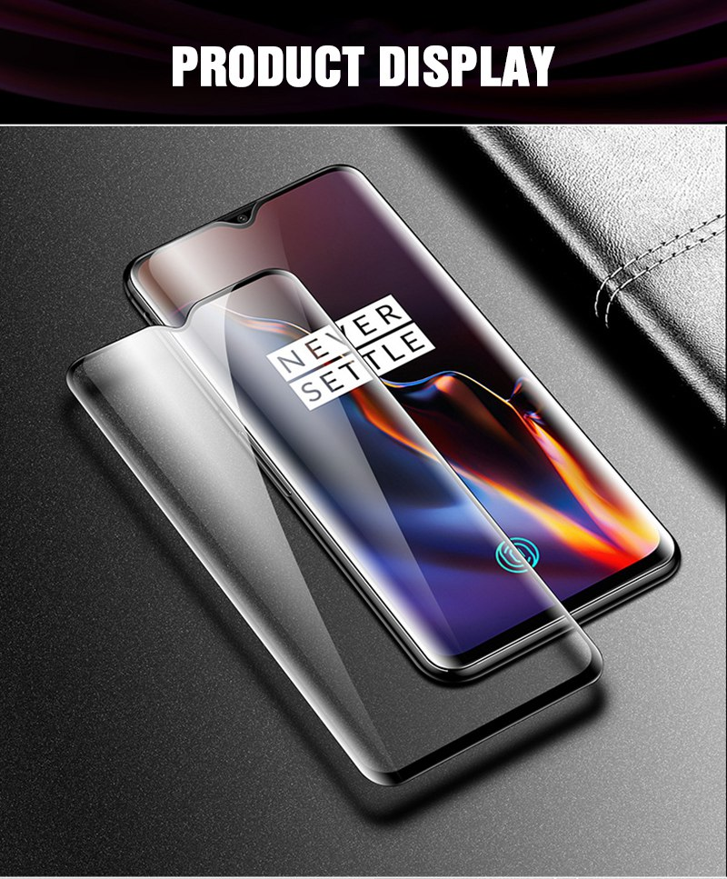 TOMKAS 6D Protective Glass For Oneplus 6T Tempered Glass Screen Protector Film For Oneplus 6 5 5T Protective Glass One Plus 6T