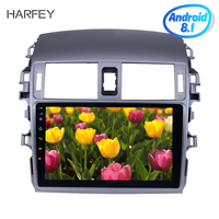 Harfey 9 inch for 2007 2008 2009 2010 Toyota OLD Corolla Android 8.1 Bluetooth Radio GPS Navigation Head unit Support WIFI 1080P