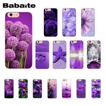 infinity on purple Phone Case for iphone 12 11 Pro Max 6S 6plus 7 7plus 8 8Plus X Xs MAX 5 5S XR image