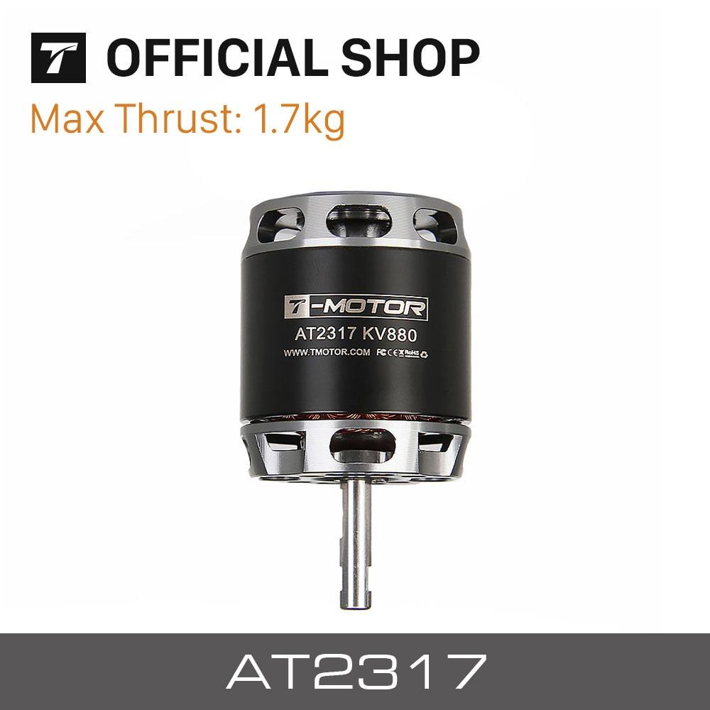 T MOTOR AT2317 Long Shaft KV880 1400KV KV1250 brushless motor for Hybrid Vertical Take off Landing
