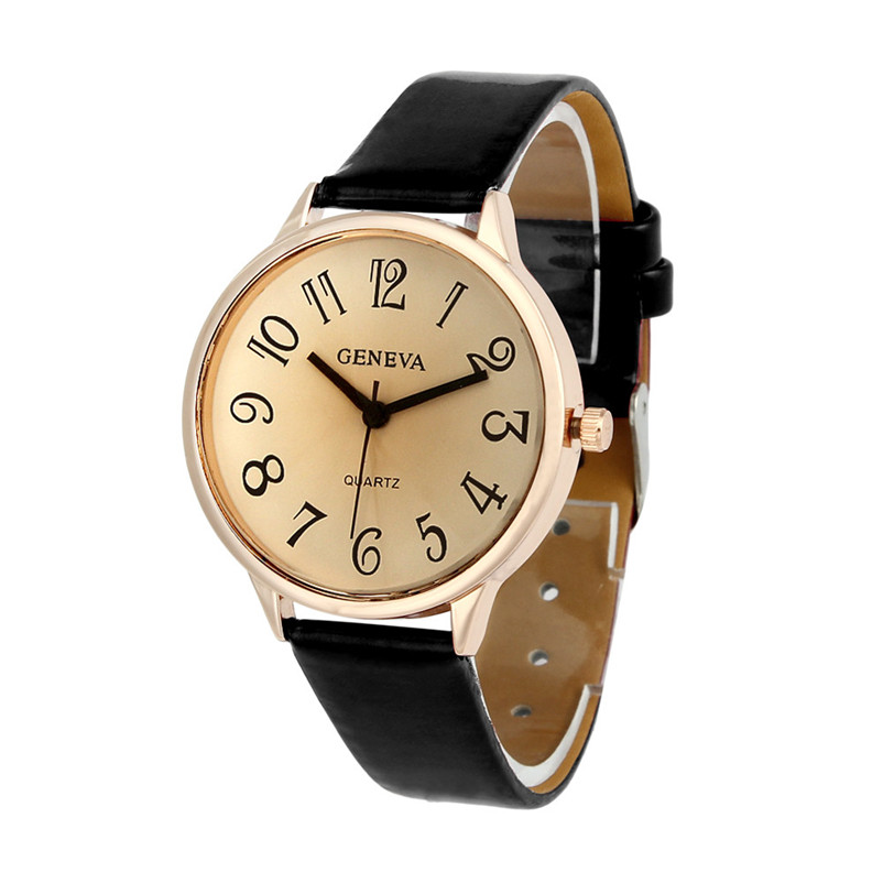 Women relojes mujer 2018 Hotting Fashion Women Faux Leather Analog Quartz Wrist Watch Women Bracelet Watch Ladies Clock women s fashion analog quartz bracelet watch orange bronze multi color 1 x 626