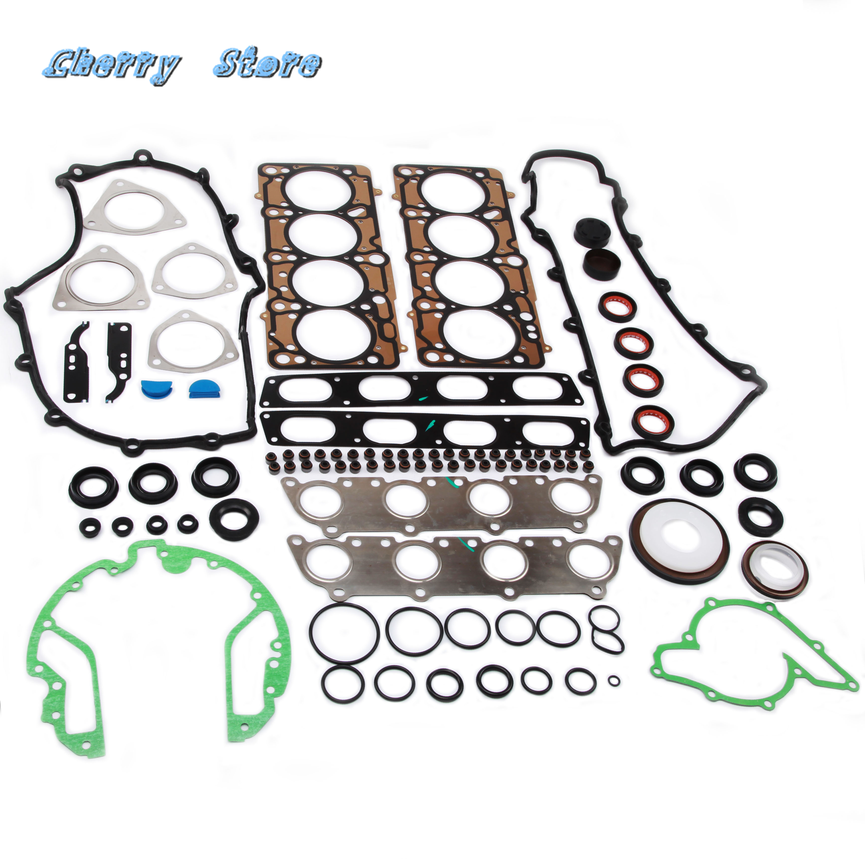 077103383BT Engine Cylinder Head Gaskets Engine Seal Repair Kit For Volkswagen Touareg Audi A6 S6 A8 S8 3.7L 4.2L 077 103 383 BN