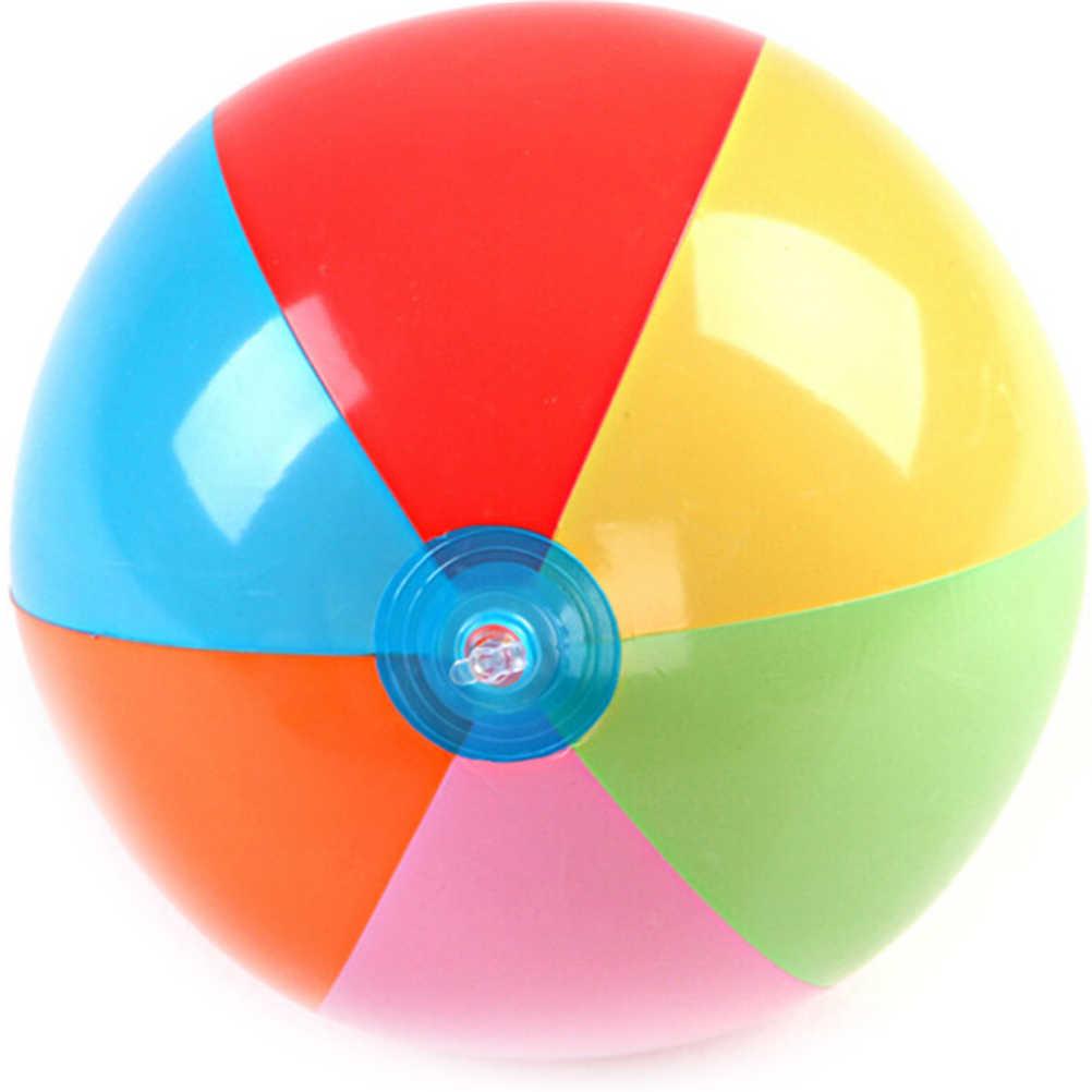 Вечерние надувные шары для игры в бассейн, пляжные спортивные шары для детей, цветные надувные шары 30 см