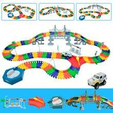 5 5cm rail car toy Magic racing tracks car DIY universal accessories for magic track educational