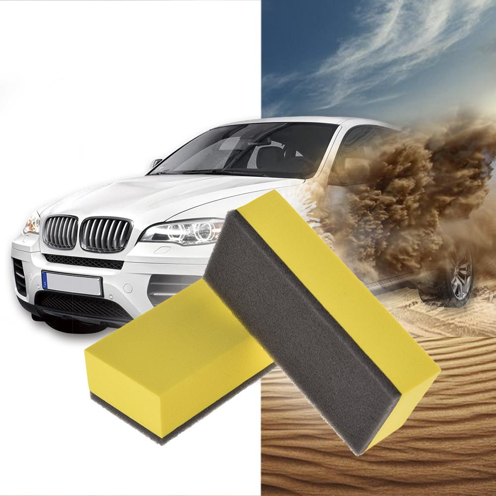 6 PCS Lacquer Coating Sponges Car Maintenance Waxing Sponge Professional And Practical Car Maintenance Tools in Polishing Grinding Materials Set from Automobiles Motorcycles