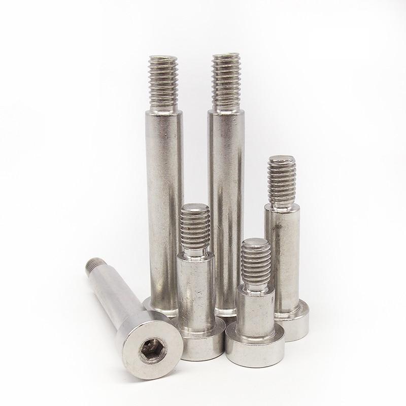 5pcs Practical M4 Zinc Plated Carbon Steel Flat Knurled Head Bolts Thumb Screws