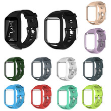Replacement Silicagel Soft Band Strap For TomTom Runner 2 3 Series GPS Watch Silicone Replacement Soft